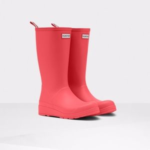NEW Hunter Original Play Rainboot Tall in Coral